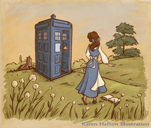 belle and tardis