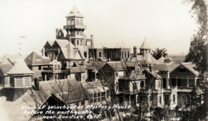 The Winchester Mystery House before the 1906 San Francisco earthquake